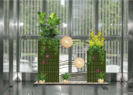 丽芳园林写字楼环球体育登录不了了租赁-方案案例:电梯厅